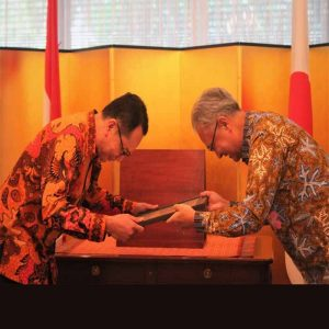 Penghargaan Mentri Luar Negri Jepang