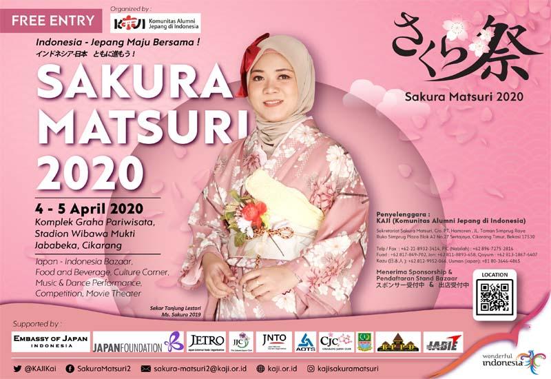 Sakura Matsuri 2020 april