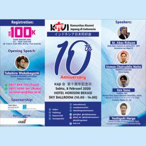 10 years KAJI Anniversary