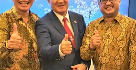 Bersama Bapak Duta Besar Jepang 2020