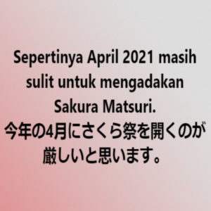 Sakura Matsuri 2021