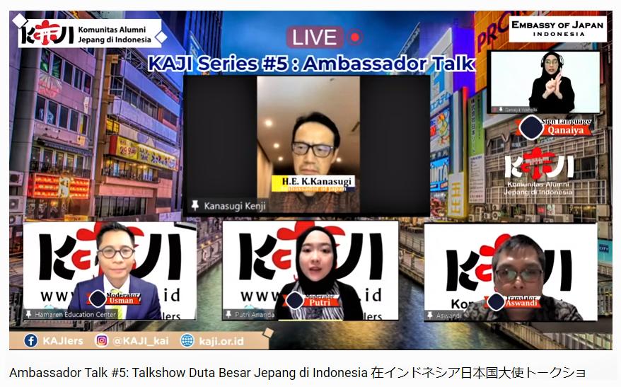 Live-Ambassador Talk #5